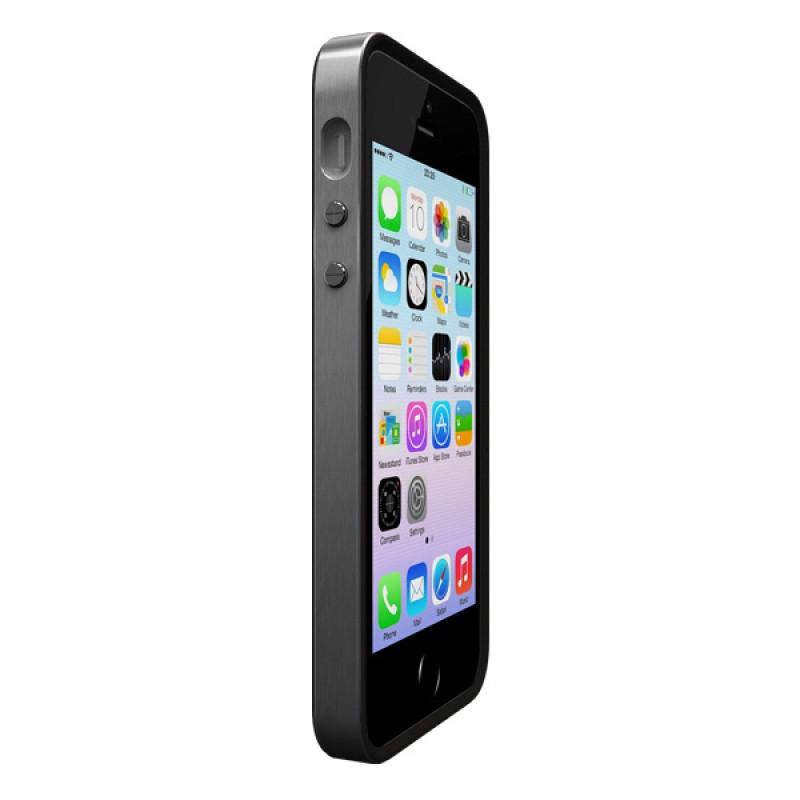 Coque contour de protection pour iPhone SE, iPhone 5 et iPhone 5S - Alloy X Mono Space Grey