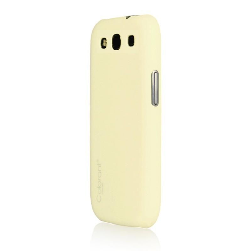 Coque de protection pour Galaxy S3 - Pastel Snap Case Cream
