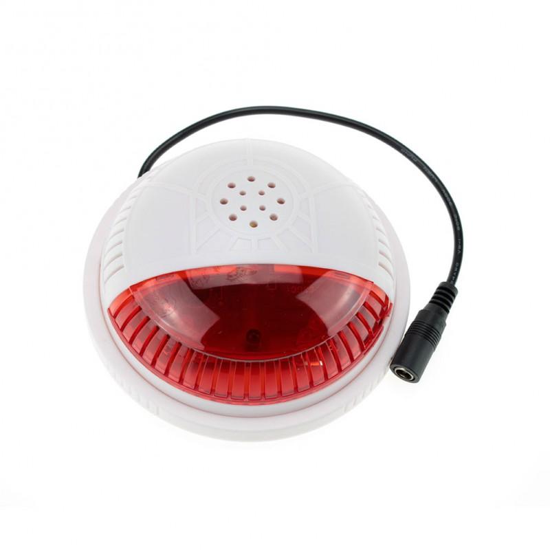 Sirène de sécurité sans fil  433 MhZ pour camera de surveillance