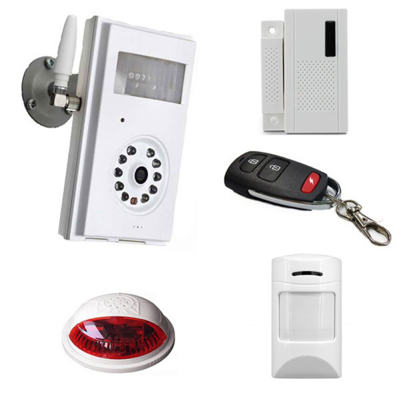 GSM camera 3G security with pack all sensors