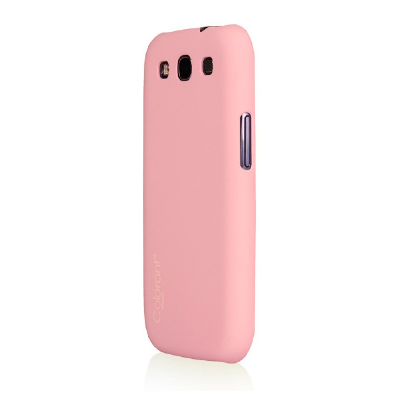 Protective cover for Galaxy S3 - Pastel Snap Case Pink